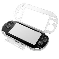 INSTEN Clear Crystal Phone Case Cover/ LCD Protector/ Headset for Sony PSP Vita