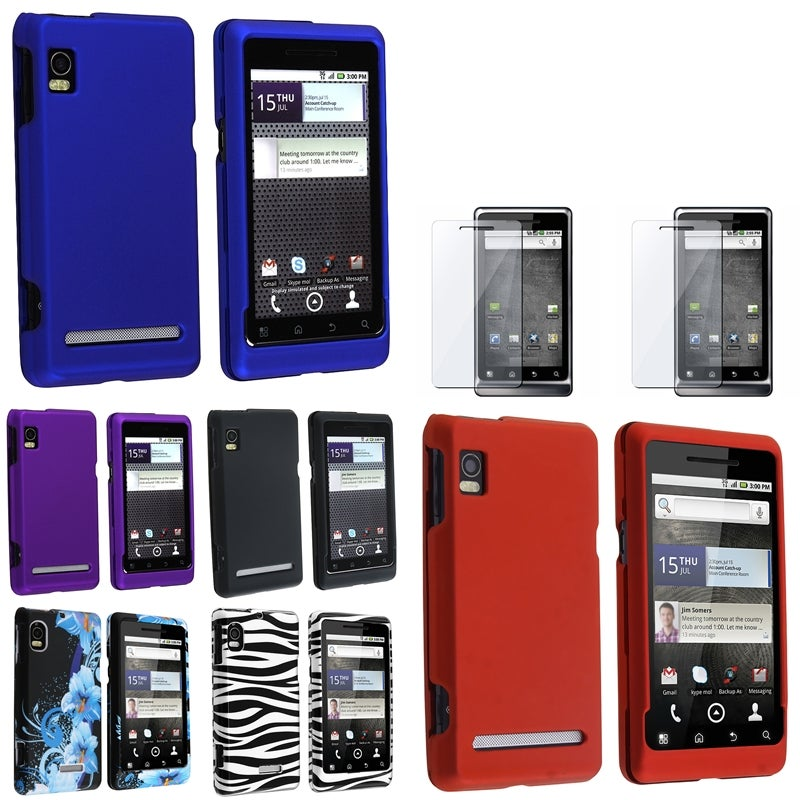 Snap-on Cases/ TPU Cases/ Protectors for Motorola Droid 2 Global A956