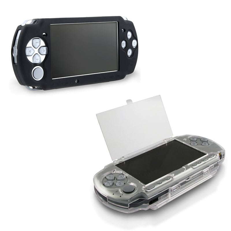 INSTEN Clear Crystal Phone Case Cover/ Soft Silicone Phone Case Cover for Sony PSP 2000/ 3000 Series