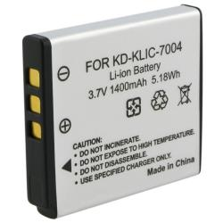 Battery/ Charger Set for Kodak Klic-7004/ V1073/ V1233/ V1253