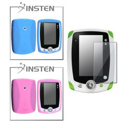 Blue/ Pink Case/ Protector compatible with LeapFrog LeapPad