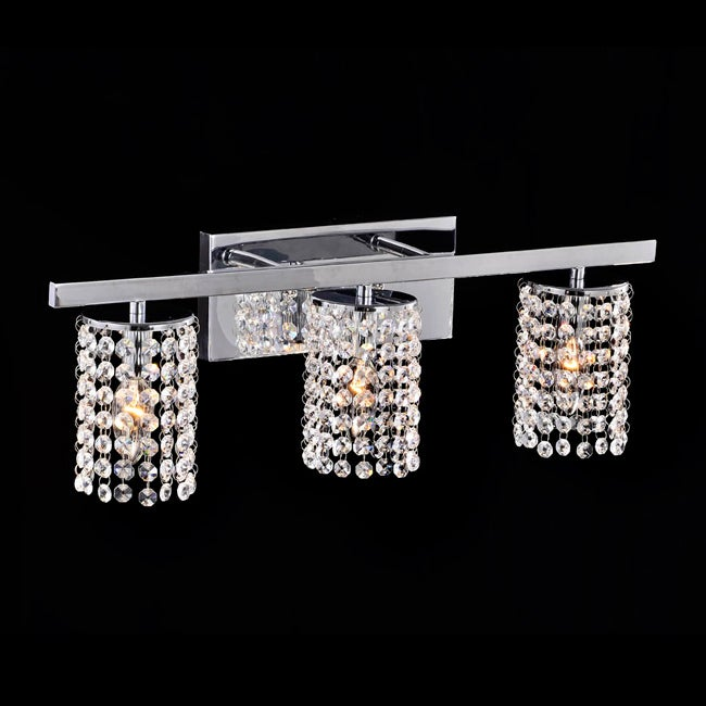 crystal 3 light round shade wall sconce lighting sconces fixture