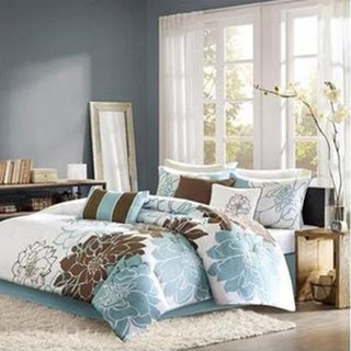 Madison Park Farrah 6-Piece Duvet Cover Set