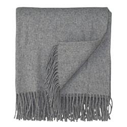 Bocasa Grey Woven Cashmere Blanket