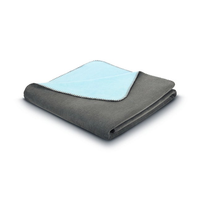 Bocasa Tender Plain Taupe / Blue Blanket