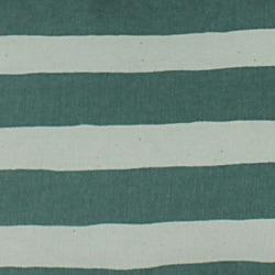 Beach Stripe Green Throw Pillows (Set of 2)