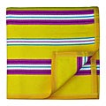Bocasa Yellow Sunrise Indoor/Outdoor Blanket