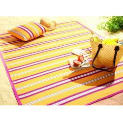 Bocasa Yellow Sunrise Indoor/Outdoor Blanket