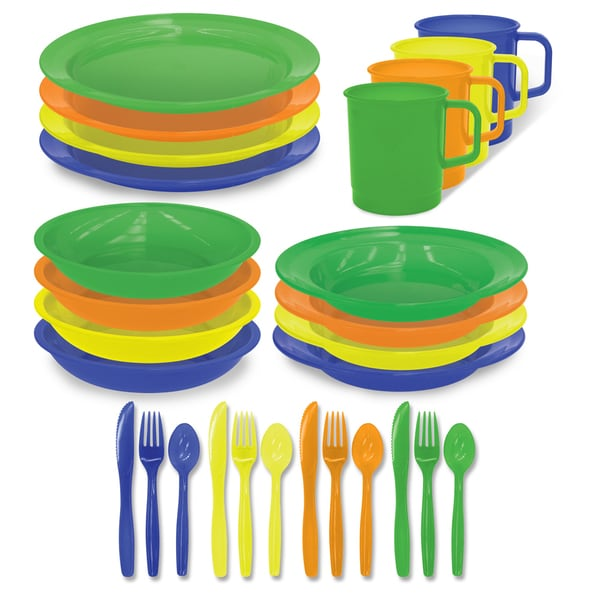 4-person Polyware Picnic Set