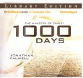 1000 Days: The Ministry of Christ: Library Edition (CD-Audio)