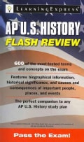 AP U.S. History Flash Review (Paperback)