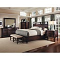 Intrigue Shelter Queen Bedroom Set (5 Pieces in Set)