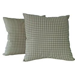 Tammy Taupe Decorative Pillows (Set of 2)