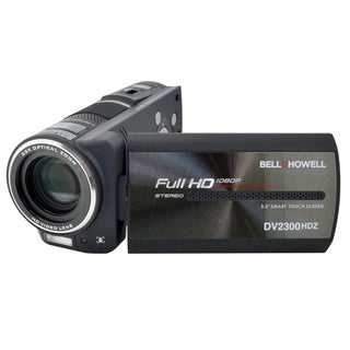 Bell+Howell DV2300HDZ Super Zoom 1080p Full HD Camcorder with Touchscreen