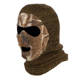 QuietWear Knit and Fleece Camo Patented Mask