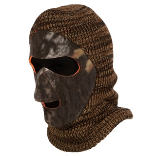 QuietWear Unisex Reversible Knit and Fleece Patented Mask