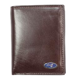 Yacht Men's Brown Leather Tri-fold Wallet