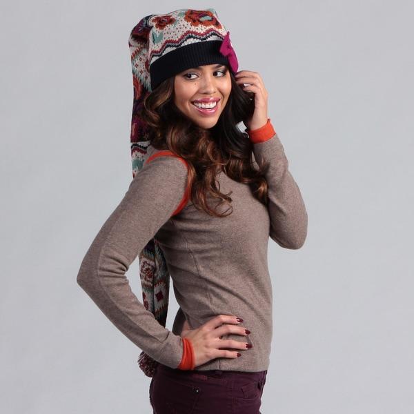 Muk Luks Women's Boho Stocking Cap