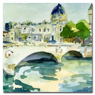 Beverly Brown 'Pont de Change, Paris' Canvas Art