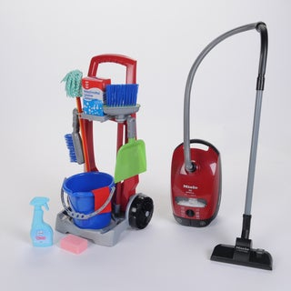 Theo Klein Cleaning Trolley/ Miele Vacuum Combo