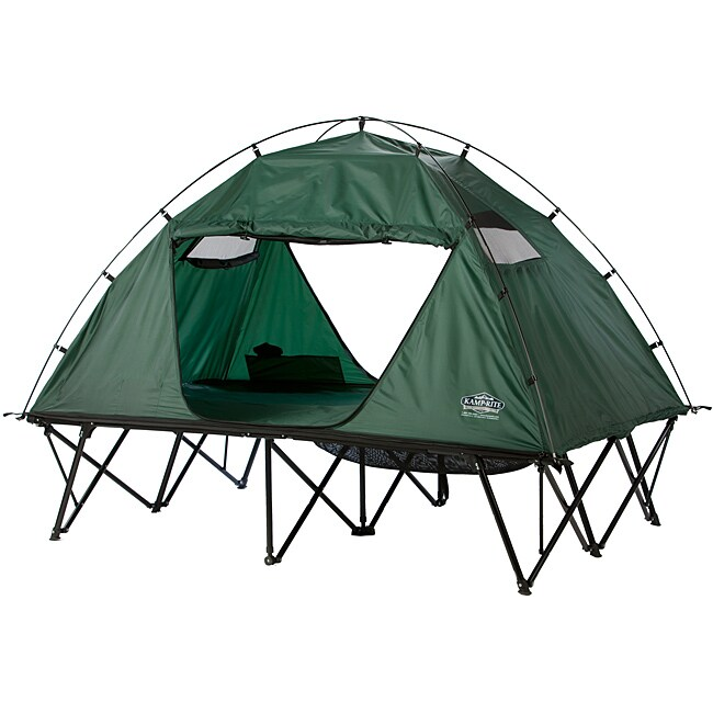 Kamp-Rite Double Tent Cot with Rainfly