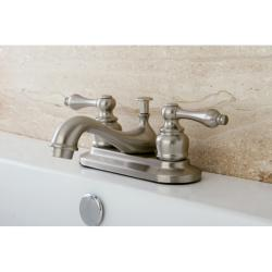 Satin Nickel Classic Bathroom Faucet (Pack of 2)