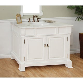 Bellaterra Home 'Olivia 42' Hardwood Bathroom Vanity