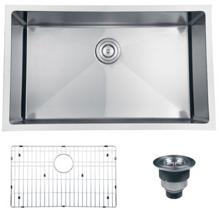 Ruvati 16-gauge Stainless Steel 30-inch Single Bowl Undermount Kitchen Sink