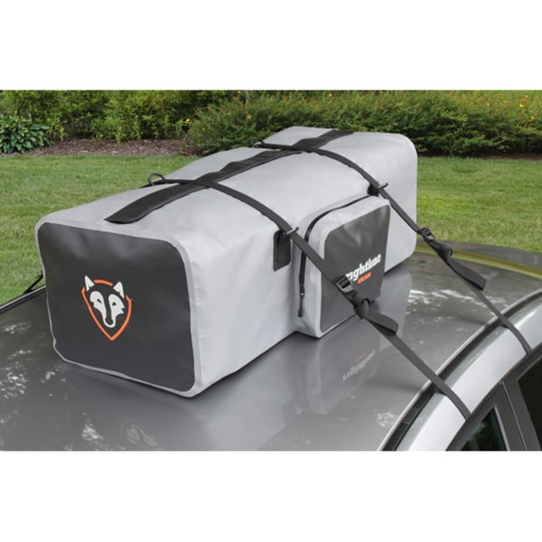Rightline Gear Gray/Black Waterproof Car Top/Luggage Rack Duffel Bag