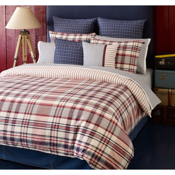 Tommy Hilfiger Vintage Duvet 3-piece Cover Set