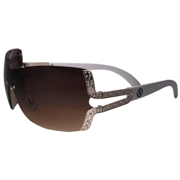 Women's Hotties White Gold Frame Sunglasses