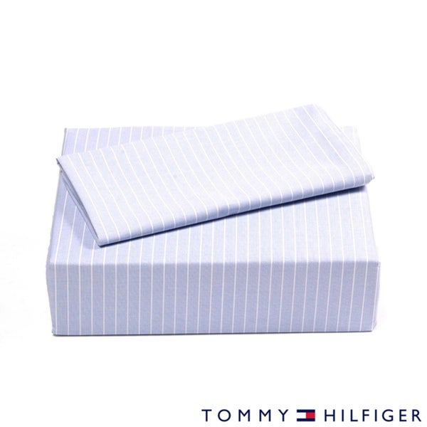 Tommy Hilfiger Oxford Stripe Sheet Set
