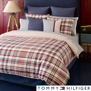 Tommy Hilfiger Vintage 3-piece Comforter Set with Optional Euro Sham Separates