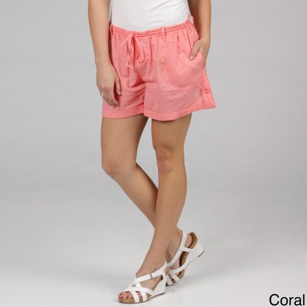 Women's Cotton Botanical Shorts