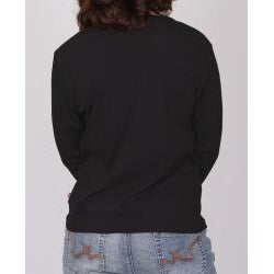 Dickies Ladies Split 'V' Long Sleeve Top