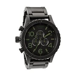 Nixon Men's 51-30 Chrono Black Surplus Watch