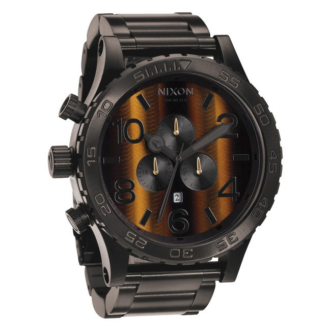 Nixon Men's 51-30 Chrono Tigerseye Watch