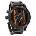 Nixon Men's 51-30 Chrono Tigerseye Watch