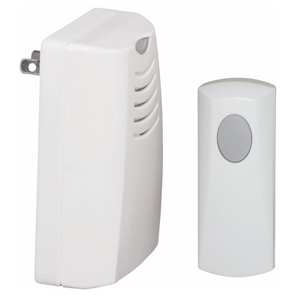 Honeywell Plug-in Wireless Door Chime and Push Button