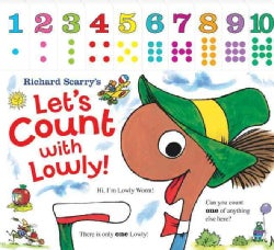 Richard Scarry's Let's Count With Lowly (Board book)