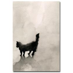 Beverly Brown 'Black Cat' Canvas Art