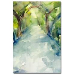 Beverly Brown 'Conservatory Gardens Central Park' Canvas Art