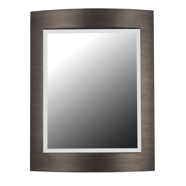 Parker Brushed Bronze Wall Mirror