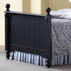 Macedonia Black Twin Bed