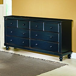 TRIBECCA HOME Macedonia Black Dresser