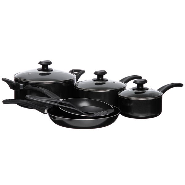 Gordon Ramsay Everyday by Royal Doulton Black Non-stick 10-piece Cookware Set