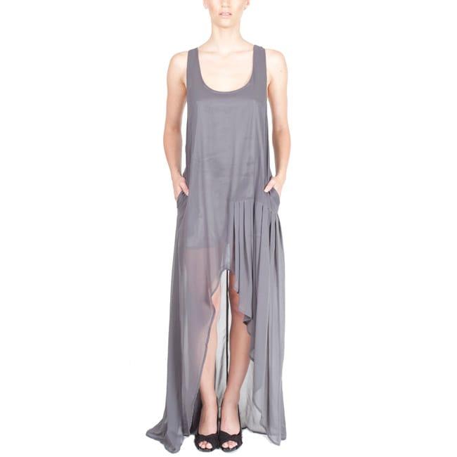 Nami Women's Semi-sheer Racerback Maxi Dress