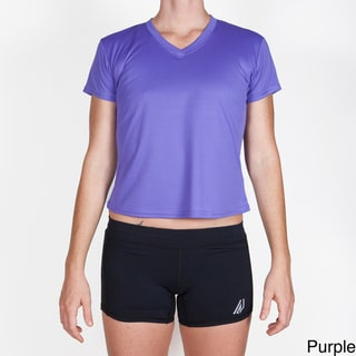 RaceReady Women's ReadyTech Aries V-Neck Running Top