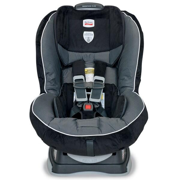 Britax Marathon 70-G3 Convertible Car Seat in Onyx