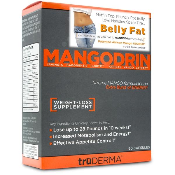 truDERMA Mangodrin Xtreme Mango (60 Count)